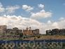 Церковь Сурб Саргис XV в., вид с моста Ахтанак