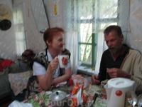Беседа за кружкой чая