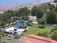 Pegasos Beach. Фалираки. Виды из второго номера
