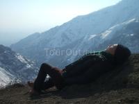 В горах Тегерана