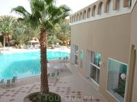 Сахара. Отель Тоарег. Вид с нашего балкона