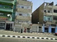 По дороге в Луксор. Фотографии из автобуса)
