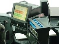 аппарат для выдачи билетов в автобусе