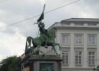 Конная статуя Годфрида де Булон