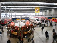 Центральный железнодорожный вокзал Мюнхена - Haufbahnhof