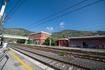 Железнодорожная станция Монте-Сан-Бьяджо. Скоростные поезда очень удобны и снабжены кондиционером. Электричка до Рима идет 1 час 10 минут. Периодичность ...
