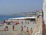 Ницца. Пляж.