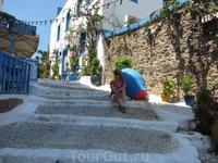 Кос,лестница