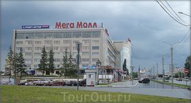 ул.Калинина Мега-Молл (здание бывшей ниточной фабрики)