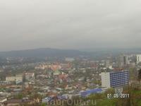Вид на город от Китайской беседки