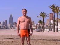 Я на пляже Бенидорма (март)