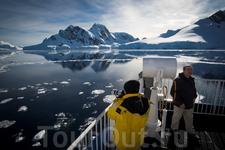 Неземной антарктический пейзаж