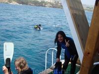 Diving. Ныряла первый раз. Была в восторге, погружалась ещё раз. Я вообще люблю всё, что связано с водой. Думаю, стоит попробовать хоть раз.