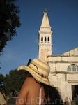 церковь Св.Эвфимии (конструкция на её шпиле показывает направление ветра)