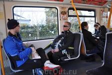 На метро в Хольменколлен