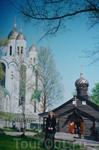Главный  православный храм Калининграда-храм Христа Спасителя. Расположен  на площади  Победы. Высота  храма  до креста 73 метра. В 1995 году был установлен ...