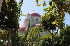 Церковь основанная греческим монахом -одиночкой.