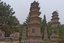 Лес буддийских пагод Та Линь - надгробные ступы на кладбище монастыря Шаолинь