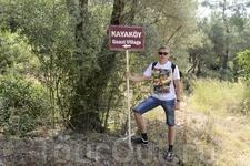 дорога в деревню-призрак Кая-Кей - главный указатель