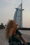 закат солнца над Персидским заливом