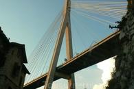 Most ( no kakoi) pri zajezde v dubrovnik