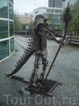 Современный рыцарь на улицах Осло, профиль