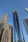 """Красивая фотка дубайских небоскребов. На улице этих самых небоскребов, названной в честь первого президента страны Шейха Заида. Ударение на """"И""""."""