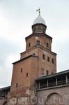 Новгородский Кремль. Башня Кокуй. Самая высокая 41 метр. В теплое время года работает смотровая площадка.