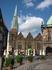 Вид на колокольню с центральной площади