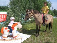 Занятие с лошадьми