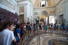 Музеи Ватикана. Напольная мозаика