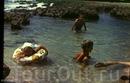 лягушатники в вулканическом берегу, очень тепло и приятно было там плескаться мелкими