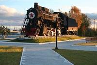 Памятник Строителям и работникам железной дороги Ивдель-Обь