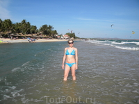Пляж у Bamboo
