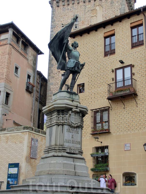 А вот и сам Хуан Браво, который прославился во время правления императора Карла I Испанского. За год до означенных событий, в 1519 году, Хуан с чадами и домочадцами проживал в Сеговии и был избран главой местной милиции. В 1520 году Кастилию охватило ...
