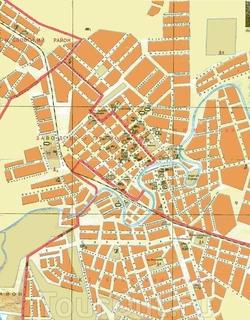 Карта Грозного