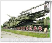 305 мм орудие на железнодорожной платформе ТМ-3-12 (СССР). Установки ТМ-3-12 получили орудия, поднятые с затопленного в Севастополе линкора «Императрица ...
