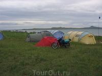 Озеро Шира КайтСерф лагерь