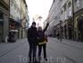 ул. Флорианская   - королевский тракт в Кракове и место нашего ночлега