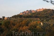 В последнее утро нашего пребывания в Тоскане решили никуда не ехать, а погулять на рассвете в полях нашего агритуризмо