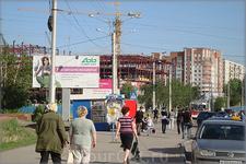 """Эгерский бульвар. Строительство очередного торгово-развлекательного центра - """"Мадагаскар"""""""