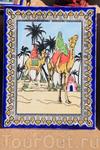 Картины в Тунисе рисуют красивые, и на бумаге и на керамике