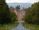 Паранормальный замок Глэмис в Шотландии