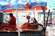 Палермо, тунец и рыба-меч