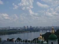 Вид на Киев .