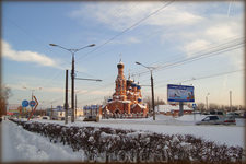 улица Гражданская.  Храм взыскания погибших.