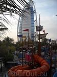 """Детский аттракцион в аквапарке Вайлд Вади """"Синбад-мореход"""""""