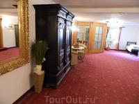 Санкт Антон, отель Бест Вестерн Альте Пост, интерьеры.
