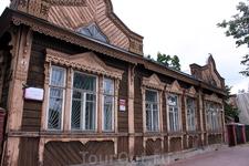 Деревянная усадьба купцов Евреиновых на Ярославской улице.