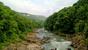 Начнем с наиболее посещаемого места,водопадов Руфабго.Находятся водопады в двух километрах от Каменномосткого(Хаджоха)  Прогулка к водопадам начинается с моста через реку Белаю.Перед мостом обычно бо